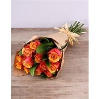 Oranžid roosid kimbus 15tk. 40-50cm