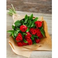 Kimp punastest roosidest 15tk., 40-50cm