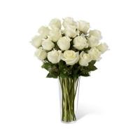 Valge roos 60cm-70cm