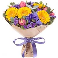 Kevadine kimp 40cm, min.17 lille+dekoratsioon