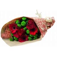 Segakimp rooside ja inkaliiliatega 40cm